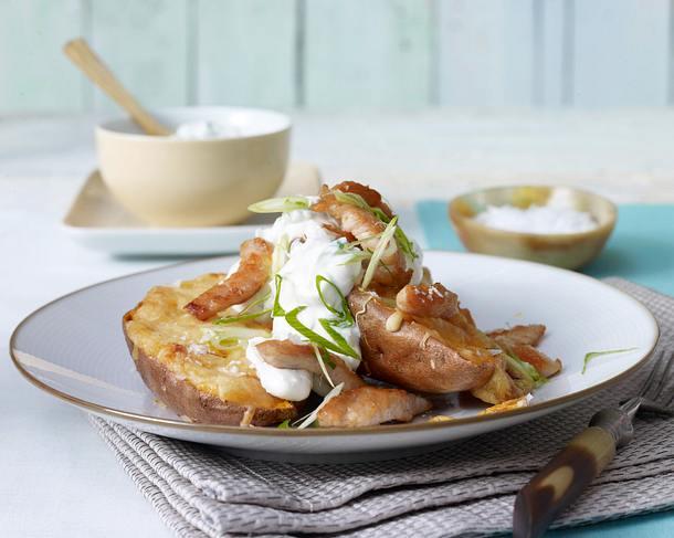 Gebackene Süßkartoffel  Rezept