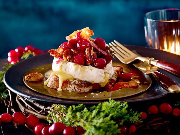 Gebackener Camembert mit Cranberrychutney Rezept