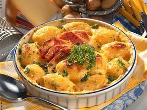 Gebackener Kartoffelauflauf Rezept