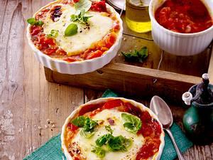 Gebackener Mozzarella mit Tomaten-Chutney Rezept