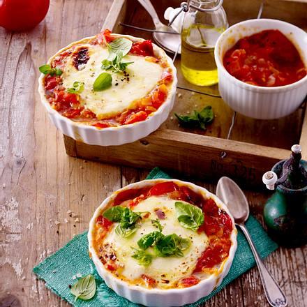gebackener mozzarella mit tomaten chutney rezept lecker. Black Bedroom Furniture Sets. Home Design Ideas