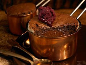 Gebackener Schokoladen Pudding Rezept