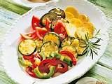Gebackenes Gemüse mit Quark-Dip Rezept