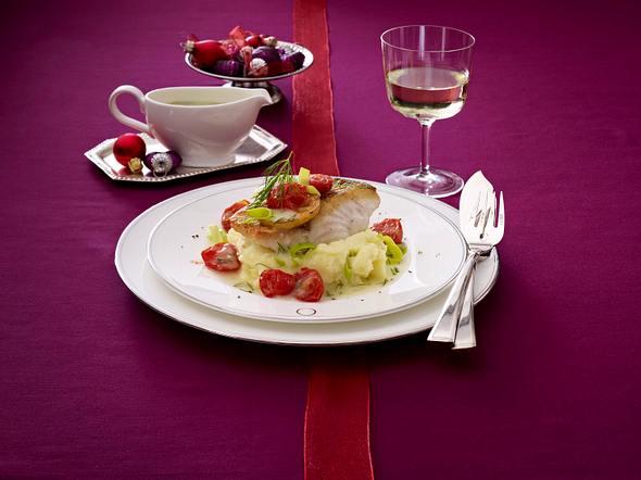 Gebratener Zander auf Pastinakenpüree mit Dill-Hollandaise Rezept