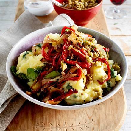 Gebratenes Chicorée-Paprika-Gemüse Rezept