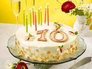 Geburtstags-Torte: Erdbeer-Mascarpone-Torte Rezept