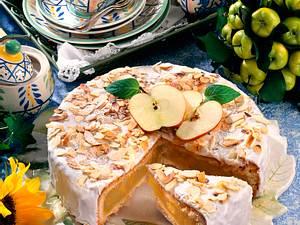 Gedeckter Apfel-Calvados-Kuchen Rezept