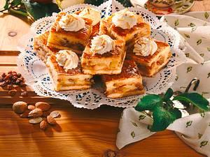 Gedeckter Apfel-Mandelkuchen Rezept