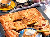 Gedeckter Pflaumen-Butterkuchen Rezept