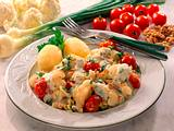 Gedünstetes Gemüse mit Kräuter-Soße Rezept