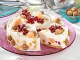 Geeiste Johannisbeer-Melonen-Torte Rezept