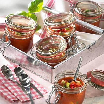 Geeiste Tomatensuppe Rezept