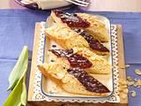Gefleckter Butterkuchen mit Roter Grütze Rezept