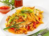 Geflügel-Asia-Pfanne Rezept