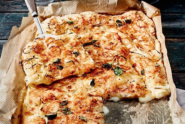 Gefüllte Fugazzeta-Pizza Rezept