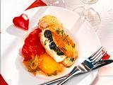 Gefüllte Hähnchenfilet mit Schafskäse und Oliven Rezept