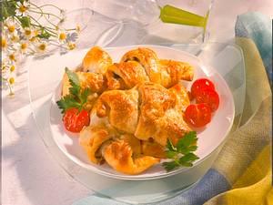 Gefüllte Käse-Croissants Rezept