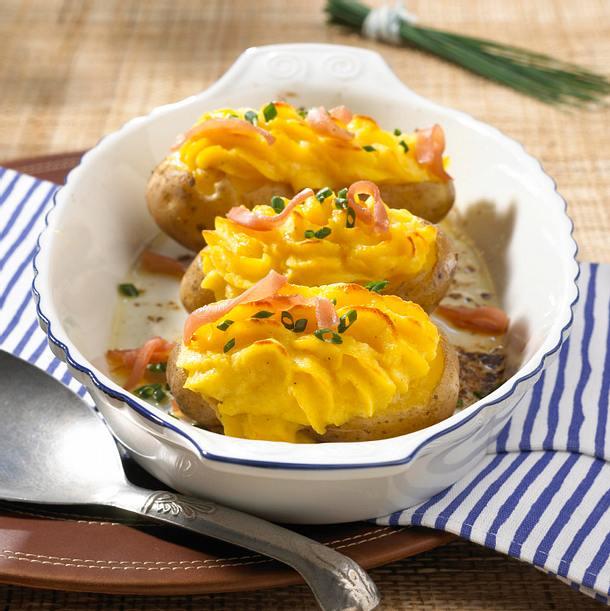 Gefüllte Ofenkartoffeln Rezept