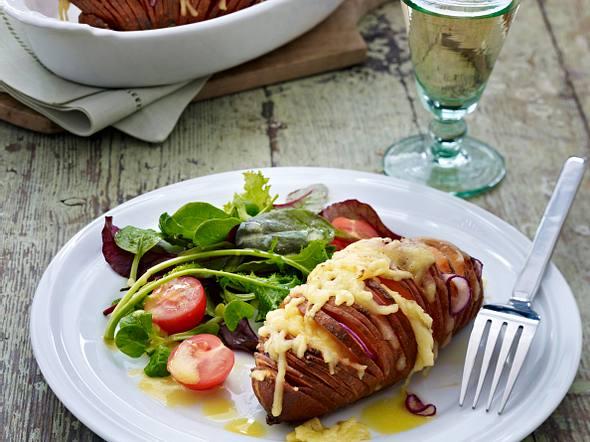 Gefüllte Schweden-Süßkartoffeln Rezept