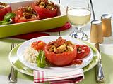 Gefüllte Tomaten mit Reis Rezept