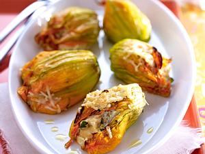 Gefüllte Zucchiniblüten Rezept