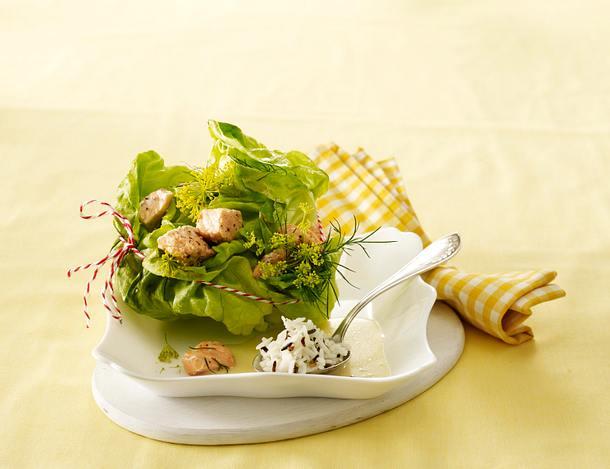 Gefüllter Kopfsalat Rezept