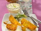 Gegrillte Ananas mit Kokossabayon Rezept