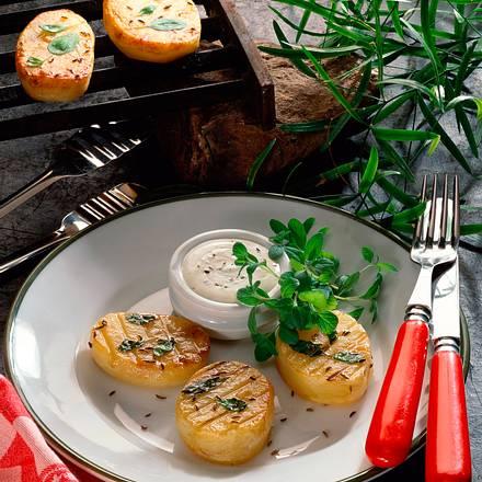 Gegrillte Majoran-Kartoffeln Rezept