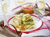 Gegrillter Halloumi mit Mango-Chutney Rezept