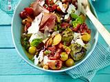 Gegrillter Tomatensalat mit Pfirsichen Rezept
