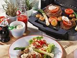 Gegrilltes Pfeffersteak mit Salat Rezept