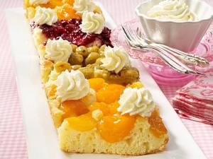 Gemischter Früchtekuchen Rezept