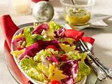 Gemischter Salat mit Honig-Senf-Vinaigrette Rezept
