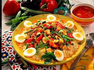 Gemüse-Couscous Rezept