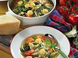Gemüse-Eintopf mit Maisklößchen Rezept