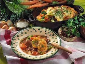 Gemüse-Fleisch-Schmortopf Rezept