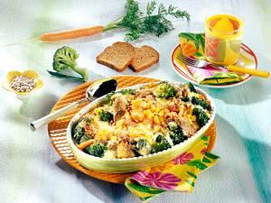 Gemüse-Gratin mit Zwieback-Kruste Rezept