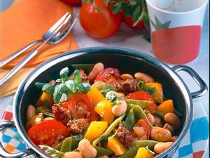 Gemüse-Hackpfanne Rezept