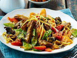 Gemüse-Kokos-Wok