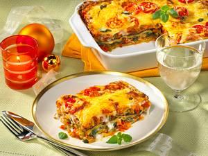 Gemüse-Lasagne mit Käsekruste  Rezept