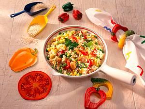 Gemüse-Paella Rezept