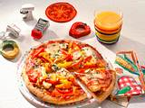 Gemüse-Pizza Rezept