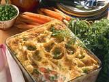 Gemüseauflauf mit Kartoffelpüree Rezept