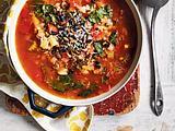Gemüseeintopf mit Perlgraupen Rezept