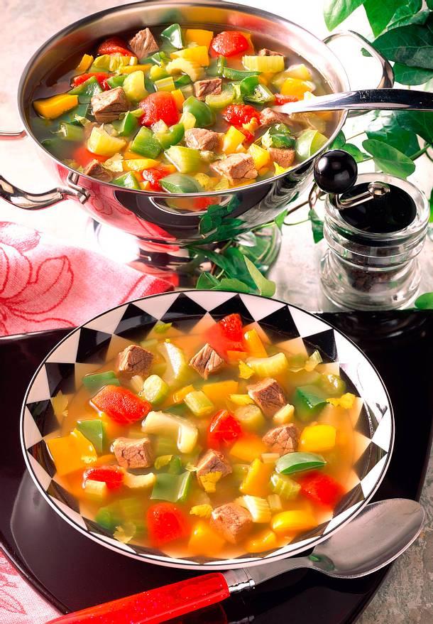 Gemüseeintopf mit Rindfleisch Rezept
