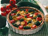 Gemüsequiche Rezept