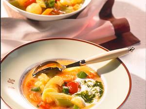 Gemüsetopf mit Kräutercreme Rezept