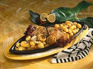 Geröstete Kartoffeln und Thunfischsteaks Rezept