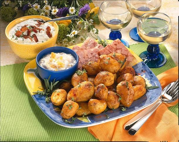 Geschmorte Weißwein Kartoffeln Rezept