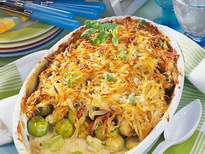 Geschmorter Rosenkohl unter Kartoffel-Kruste Rezept